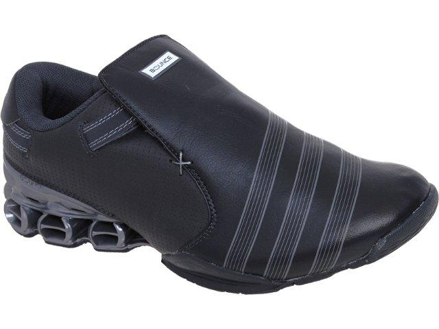 Tênis Masculino Adidas Mactelo Bounce G50359 Preto/prata