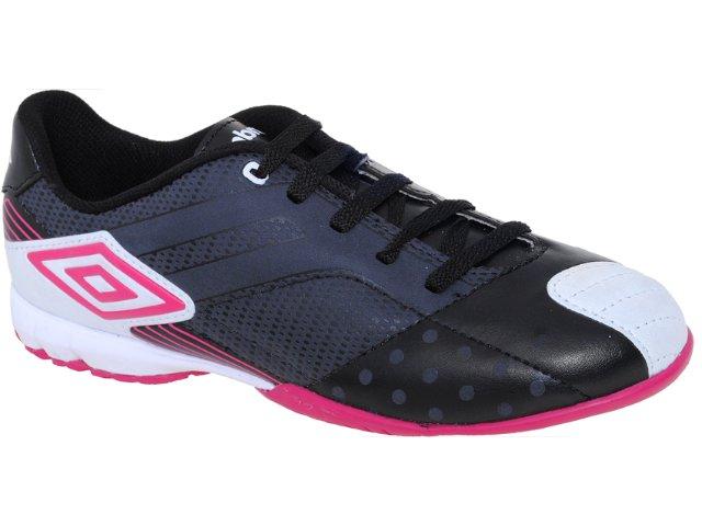 Tênis Unisex Umbro Hypert 10130 Pto/bco/pink