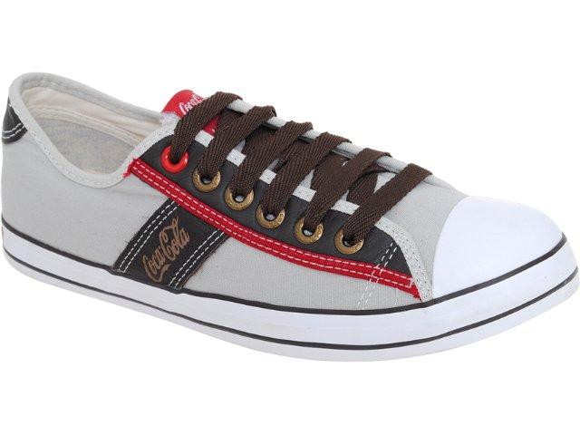Tênis Masculino Coca-cola Shoes Cc0101701 Areia