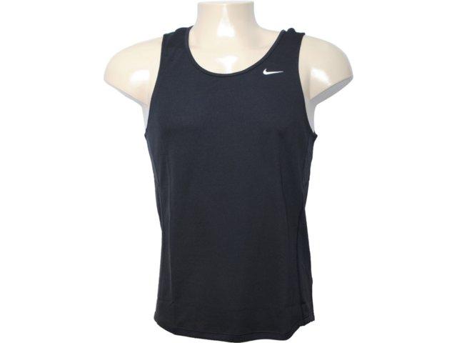 Regata Masculina Nike 404648-010 Preto