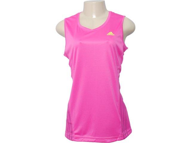 Regata Feminina Adidas V10909 Pink