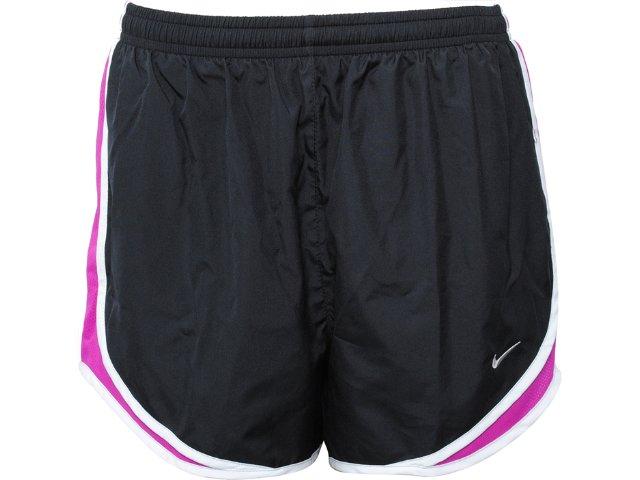 Short Feminino Nike 716453-004 Chumbo/violeta