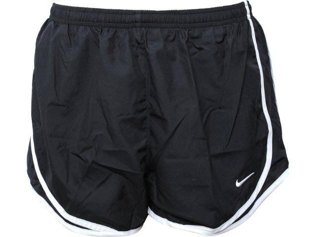 Short Feminino Nike 716453-010 Preto/branco