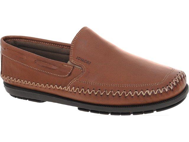 Sapato Masculino Jovaceli 04006 Tabaco