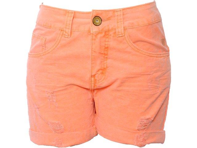 Short Feminino Cavalera Clothing 08.04.0586 Laranja