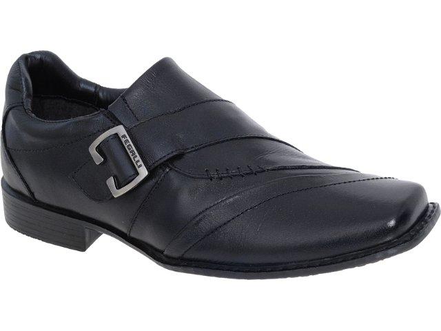Sapato Masculino Fegalli 3014 Preto