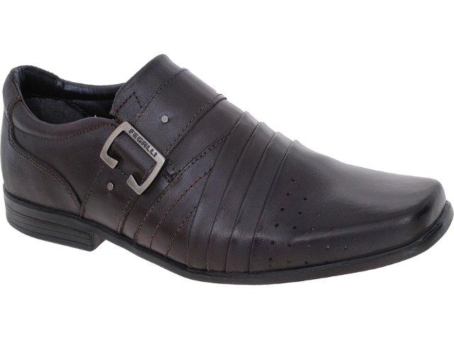 Sapato Masculino Fegalli 2705 Café