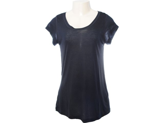 Camiseta Feminina Lupo 76120 Preto