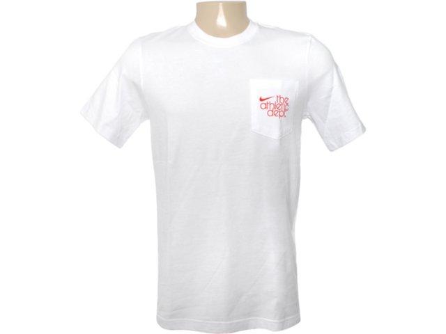 Camiseta Masculina Nike 419231-101 Branco