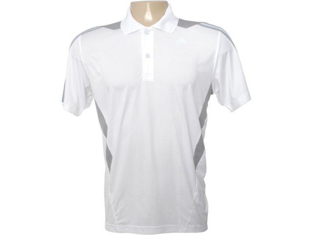 Camisa Masculina Adidas O03696 Branco/cinza