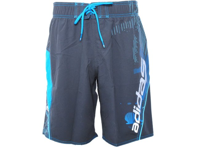 Bermuda Masculina Adidas O59697 Chumbo/azul