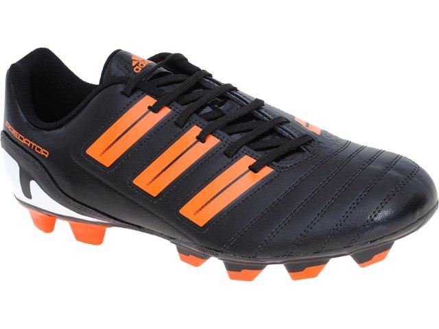 Chuteira Masculina Adidas Predito xi tr G29860 Preto/laranja