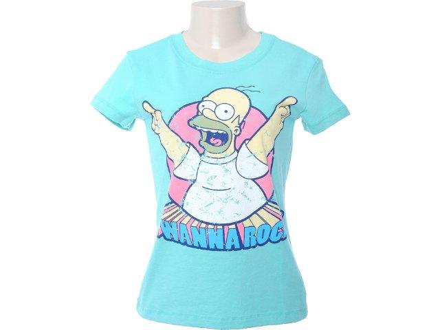 Camiseta Feminina Cavalera Clothing 09.02.0873 Verde
