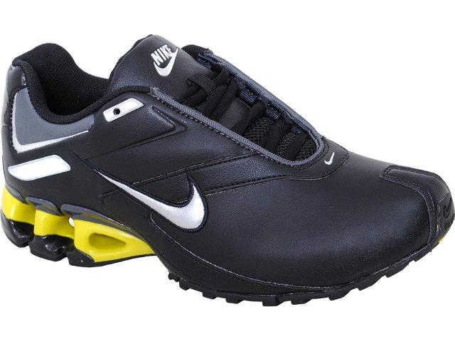 Tênis Masculino Nike Impax 386501-012 Preto/amarelo