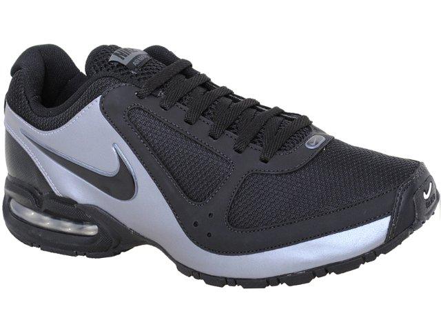 Tênis Masculino Nike Air Max 445603-002 Preto/cinza