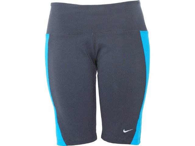 Bermuda Feminina Nike 446155-061 Cinza/azul