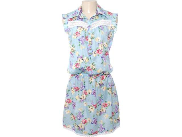 Vestido Feminino Moikana 5014 Azul