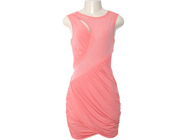 Vestido Feminino Moikana 4023 Coral