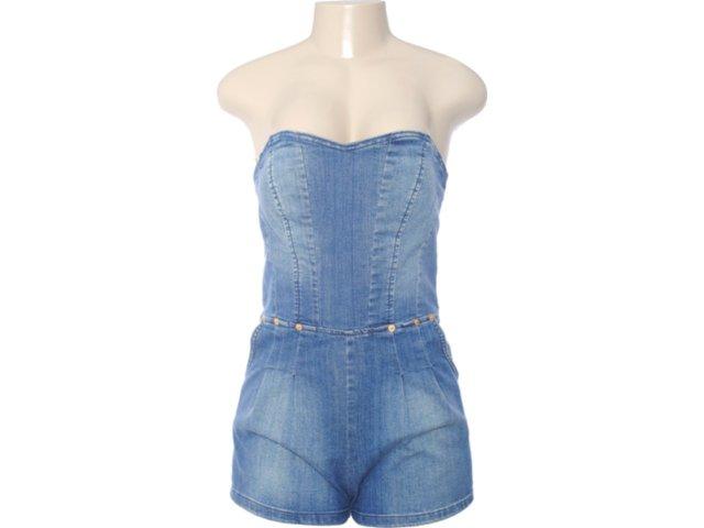 Macaquinho Feminino Index 16.01.0114 Jeans