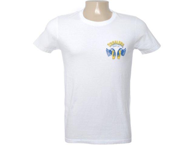 Camiseta Masculina Cavalera Clothing 01.01.6285 Branco