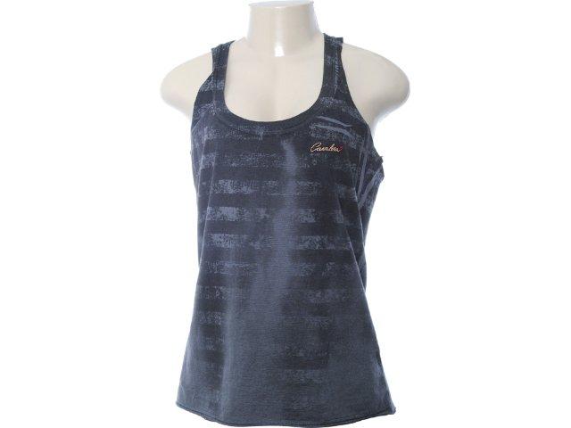 Regata Feminina Cavalera Clothing 09.01.2353 Chumbo