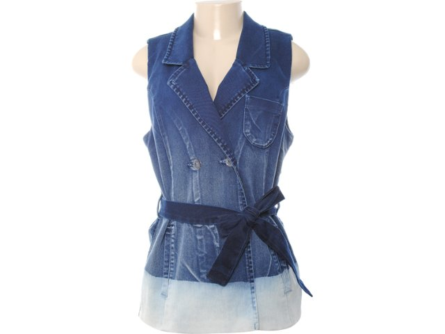 Colete Feminino Dopping 014211501 Jeans