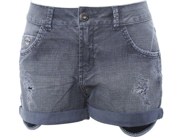 Short Feminino Lado Avesso 75183 Jeans