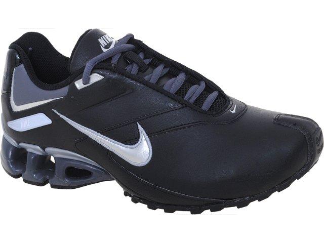 Tênis Masculino Nike Impax Emirro 386501-013 Preto/prata