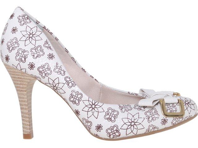 Sapato Feminino Bebêcê844161 Off White