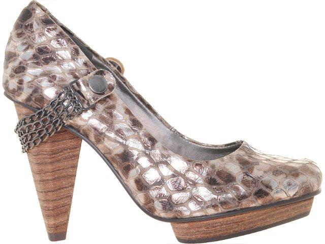 Sapato Feminino Tanara 1252 Chocolate