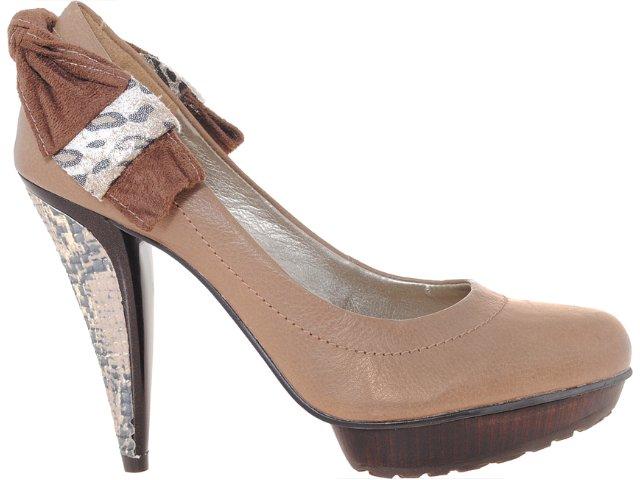 Sapato Feminino Tanara 0822 Avelã