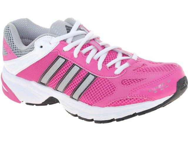 Tênis Feminino Adidas Duramo 4w V21941  Pink/branco