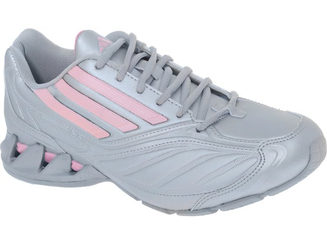 Tênis Feminino Adidas Radiant la G29433  Prata/rosa