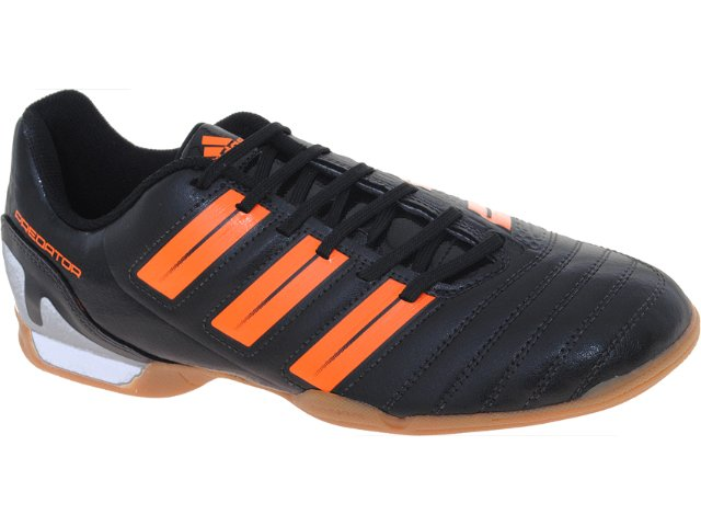 Tênis Masculino Adidas G29675 Predito xi in Preto/laranja