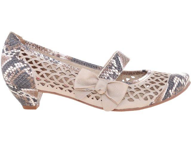 Sapato Feminino Tanara 2963 Fibra