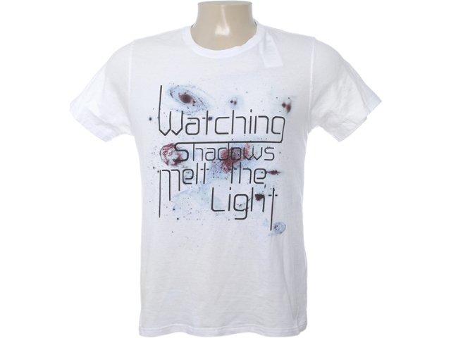 Camiseta Masculina Dzarm 6btn Noa10 Branco