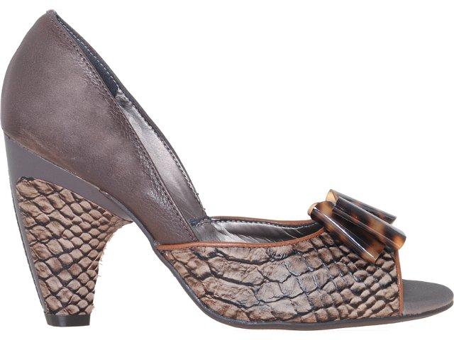 Sapato Feminino Tanara 0851 Castanho