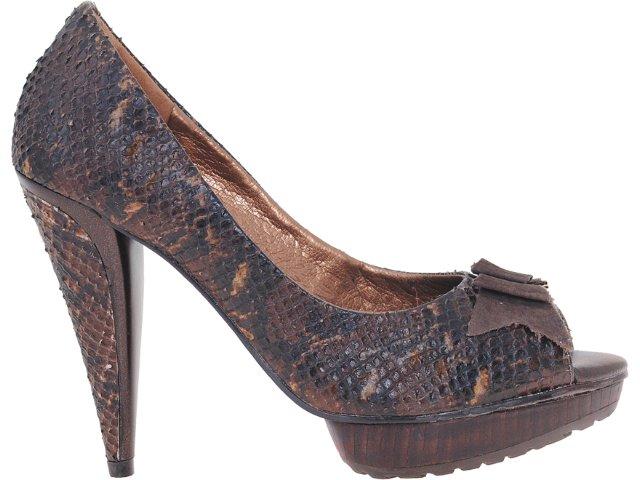 Sapato Feminino Tanara 0821 Chocolate