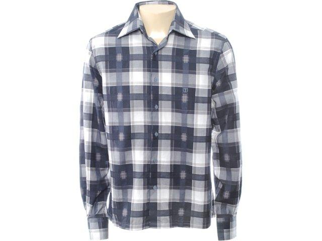 Camisa Masculina Individual 302.408.900 Cinza Claro