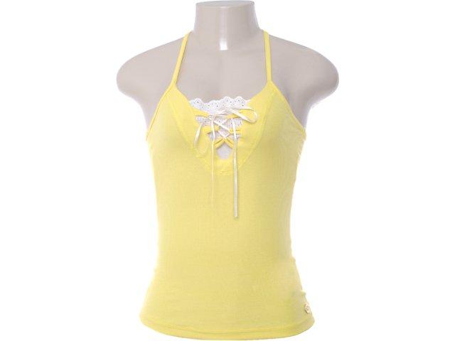 Regata Feminina Coca-cola Clothing 383200291 Amarelo