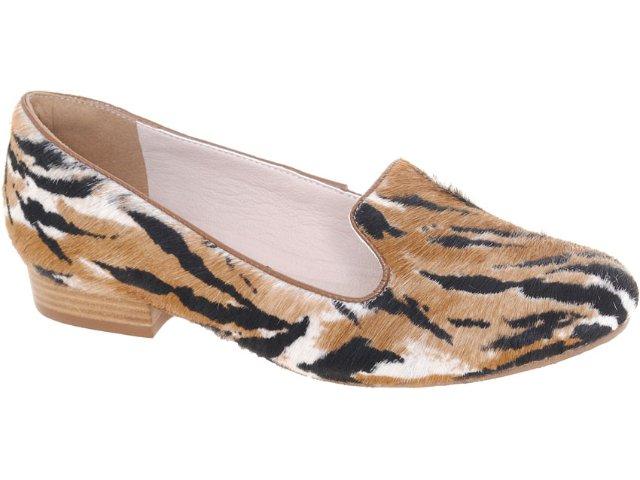 Sapato Feminino Tanara Slipper 3014 Onca