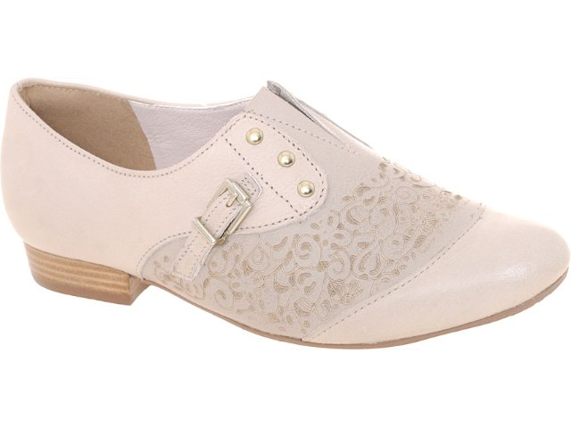 Sapato Feminino Tanara 3015 Fibra
