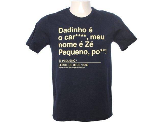 Camiseta Masculina Cavalera Clothing 01.01.6540 Preto