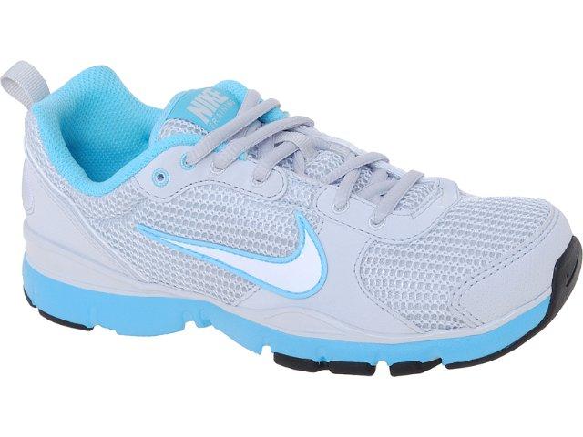Tênis Feminino Nike 443836-008 Flex Trainer Cinza/azul