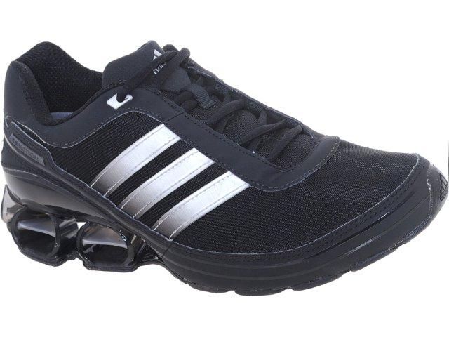 Tênis Masculino Adidas Devotion V23391  Preto/prata