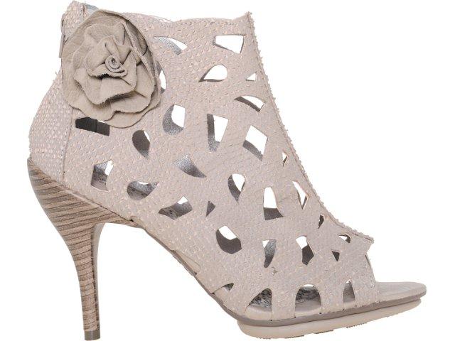 Summer Boot Feminina Ramarim 1127105 Amendoa