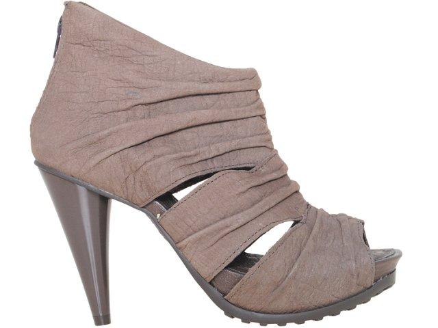 Summer Boot Feminina Ramarim 1128104 Marrom