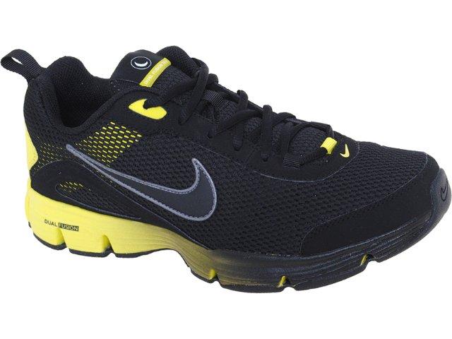 Tênis Masculino Nike 488002-001 Dual Fusion Preto/amarelo