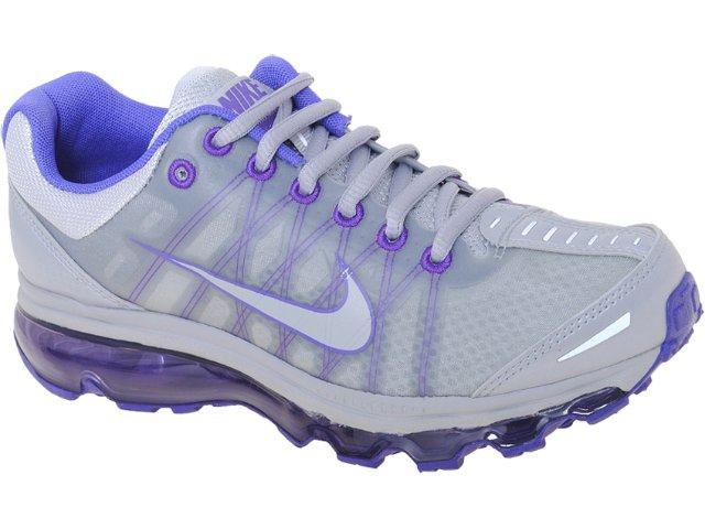 Tênis Feminino Nike 476784-050 Air Max  Cinza/violeta