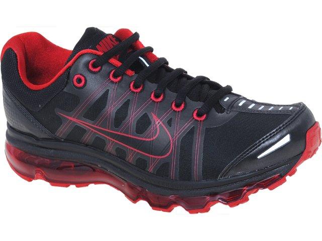 Tênis Masculino Nike 476784-001 Air Max  Preto/vermelho